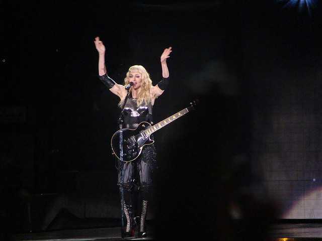 Madonna Lyrics Quiz Round 1